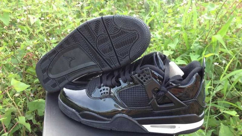 Cheap 2015 Air Jordan 4 Retro All Black Shoes