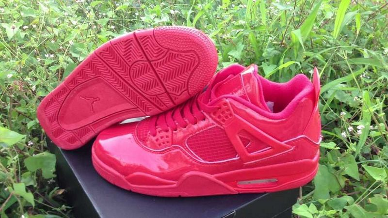 Cheap 2015 Air Jordan 4 Retro All Red Shoes