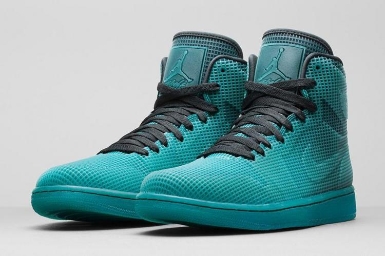 Cheap 2015 Air Jordan 4LAB1 Green Black Shoes