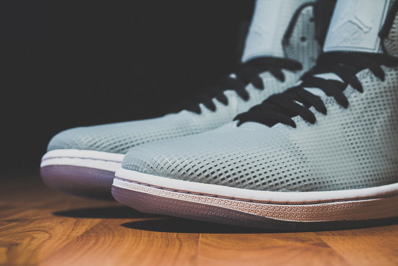 Cheap 2015 Air Jordan 4LAB1 Grey Black Shoes