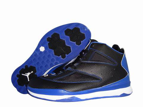 Cheap Jordan Christ Paul Black White Blue Shoes