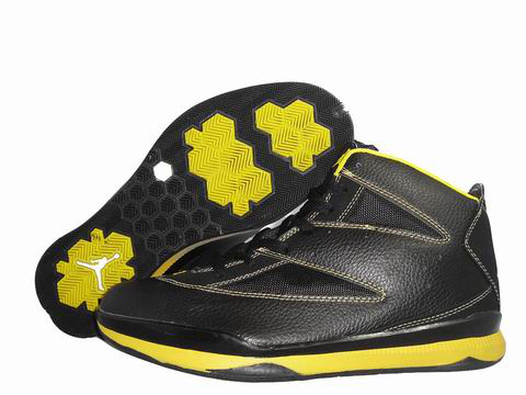 Cheap Jordan Christ Paul Black Yellow Shoes