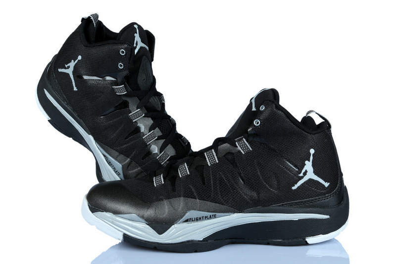Nike Jordan Griffin Supper Fly 2 Black Grey Basketball Shoes