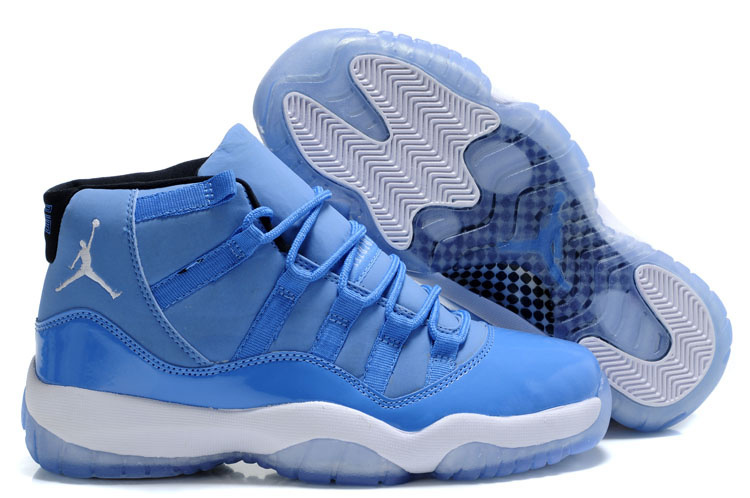 Online Sale Air Jordan 11 Retro University Blue White For Mens