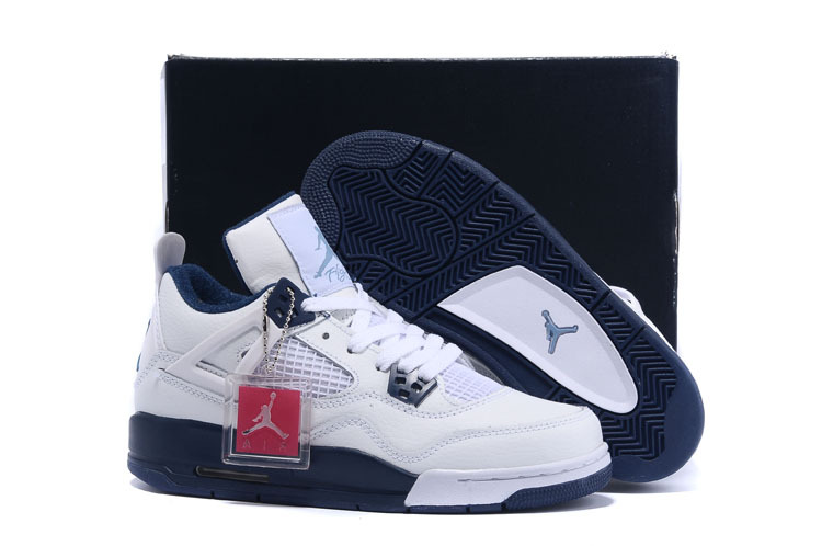 2015 Real Women Jordan Retro 4 Columbia Shoes