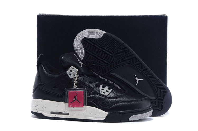 2015 Real Women Jordan Retro 4 Oreo Shoes