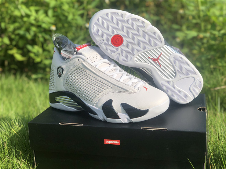 jordan 14s retro white university red shoes