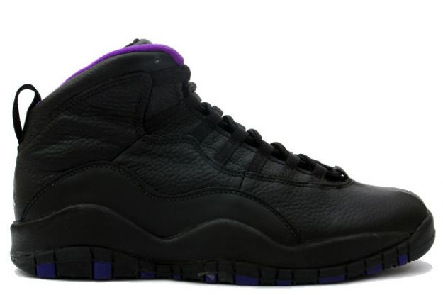 cheap jordan 10 sacramento kings black shoes