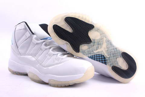 original jordan retro 11 all white shoes