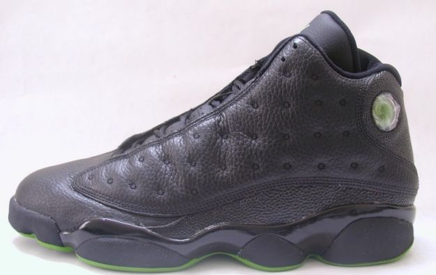 discount authentic air jordan 13 altitudes black altitude green shoes