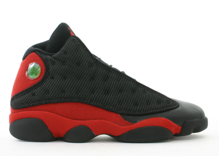 discount authentic air jordan 13 blacktrue red shoes