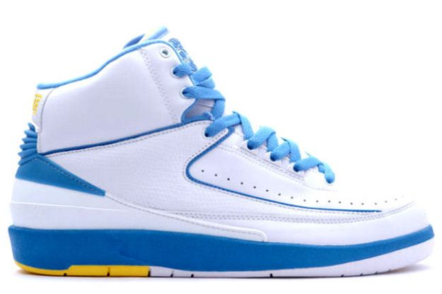Special Jordan 2 Carmello Anthony Melo White University Blue Varisty Mai