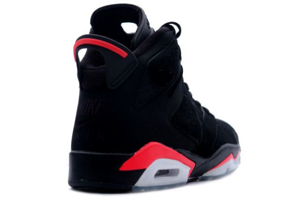 cheap air jordan 6 black deep infrared shoes