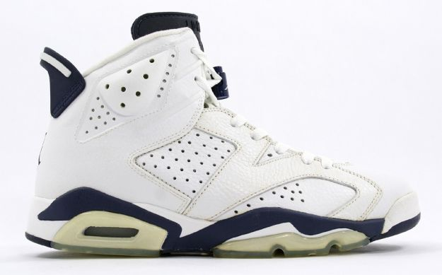 cheap air jordan 6 white midnight navy shoes